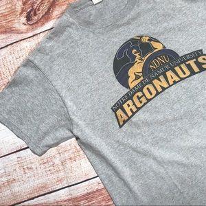 ▪️v i n t a g e : notre dame argonauts t-shirt